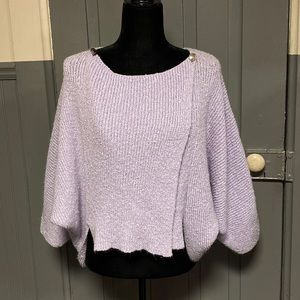 Vintage Lucie Bournival Winged Sleeve Sweater